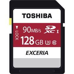Paměťová karta SDXC, 128 GB, Toshiba Exceria N302 THN-N302R1280E4, Class 10, UHS-I, UHS-Class 3