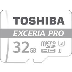 Pamäťová karta micro SDHC, 32 GB, Toshiba EXCERIA™ PRO M401, Class 10, UHS-I, vr. SD adaptéru