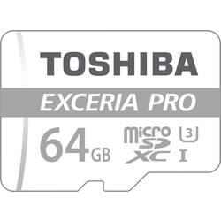 Pamäťová karta micro SDXC, 64 GB, Toshiba EXCERIA™ PRO M401, Class 10, UHS-I, vr. SD adaptéru