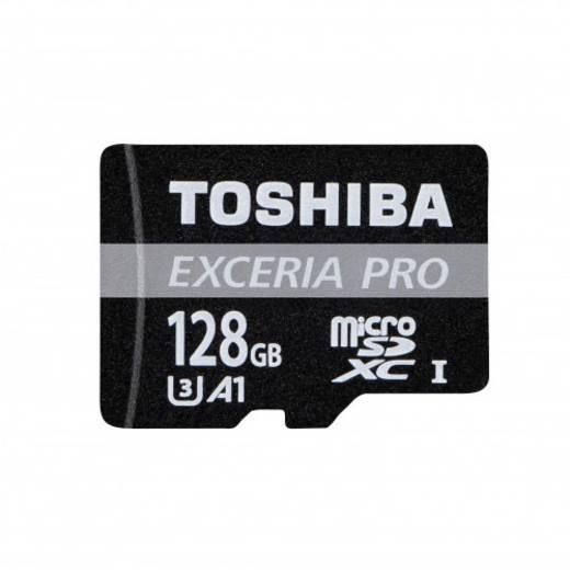 microSDXC-Karte 128 GB Toshiba EXCERIA™ PRO M401 Class 10, UHS-I inkl. SD-Adapter