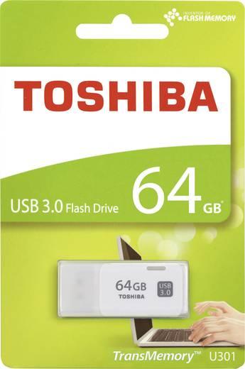Toshiba TransMemory™ U301 USB-Stick 64 GB Weiß THN-U301W0640E4 USB 3.0
