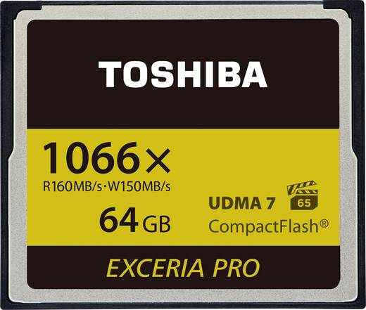 CF-Karte 64 GB Toshiba EXCERIA PRO™ C501