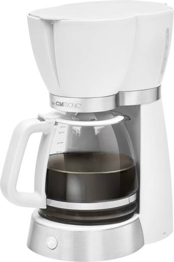 Kaffeemaschine Clatronic KA 3689 weiss Weiß Fassungsvermögen Tassen=15