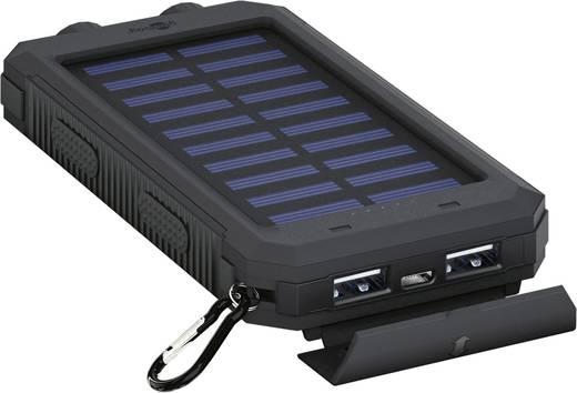 Goobay Outdoor 8.0 49216 Solar-Ladegerät Ladestrom Solarzelle 200 mA Kapazität (mAh, Ah) 8000 mAh