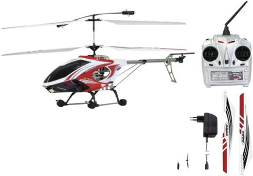 Jamara Helikopter District 3 Kanal mit Gyro + LED 2.4 GHz mit Fernsteuerung