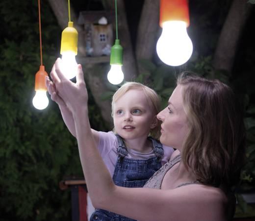 Handy Lux LED-Dekoleuchte 4er Set LED 1 W Neutral-Weiß HandyLux Colors M14159 Gelb, Orange, Magenta, Grün