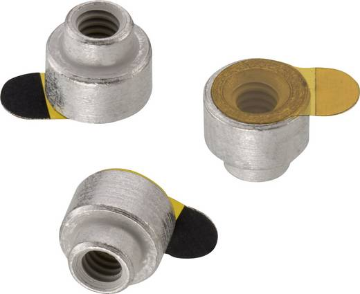 Abstandshalter (Ø x L) 4.3 mm x 6 mm Würth Elektronik 9774060243R 1 St.