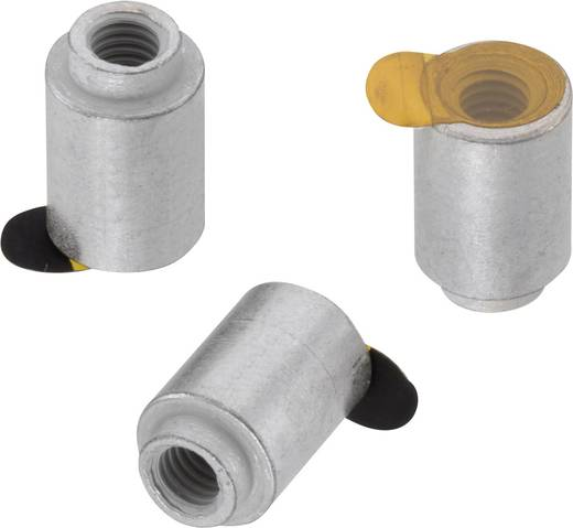 Würth Elektronik 9774010482R Abstandshalter Stahl (Ø x L) 8.2 mm x 1 mm 1 St.