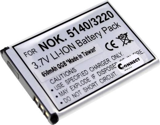 Connect 3000 BL-5B Kamera-Akku ersetzt Original-Akku BL-5B 3.7 V 650 mAh