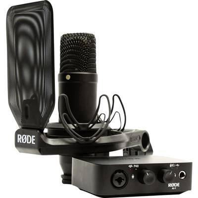 Audio Interface RODE Microphones NT1/AI-1 Kit Monitor-Controlling Preisvergleich