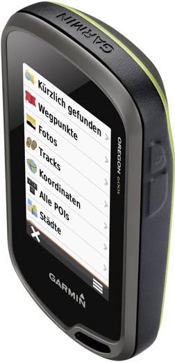 Outdoor Navi Fahrrad, Geocaching, Wandern Garmin Oregon 600T Europa Bluetooth®, GLONASS, GPS, inkl. topographische Karte