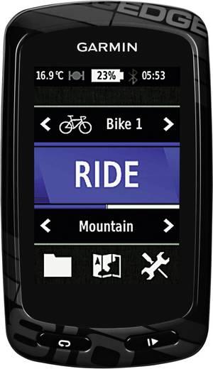 Outdoor Navi Fahrrad Garmin Edge 810 HRM+CAD + City Navigator EU Europa Bluetooth®, GPS, spritzwassergeschützt