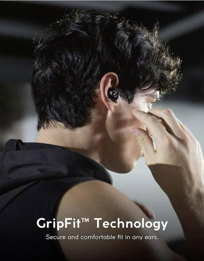 Anker Zolo Liberty+ Bluetooth® Sport Kopfhörer In Ear Headset, Noise Cancelling, Schweißresistent, Wasserbeständig Schwa