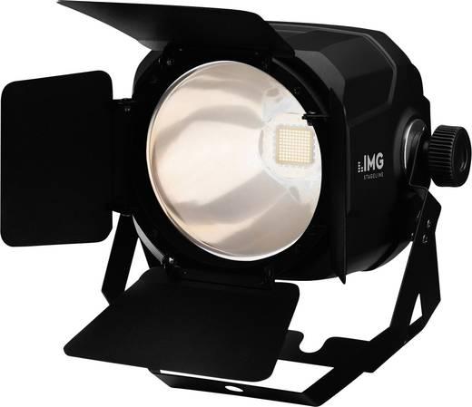 LED-PAR-Scheinwerfer IMG STAGELINE PARC-100E/WWS Anzahl LEDs: 1 Schwarz