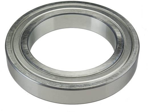 Rillenkugellager einreihig FAG 6211-2RSR Bohrungs-Ø 55 mm Außen-Durchmesser 100 mm Drehzahl (max.) 4300 U/min