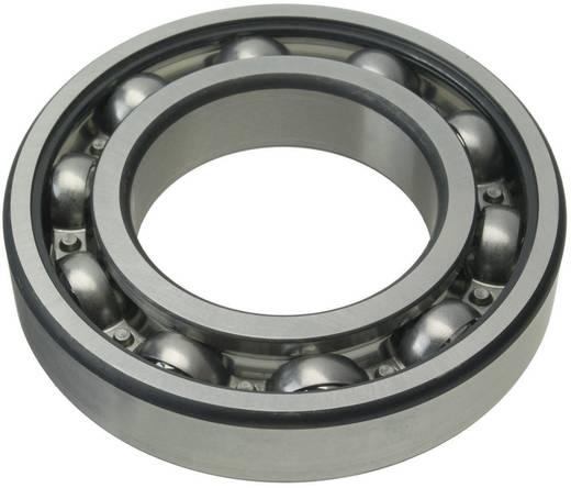 Rillenkugellager einreihig FAG 6211-2RSR-C3 Bohrungs-Ø 55 mm Außen-Durchmesser 100 mm Drehzahl (max.) 4300 U/min