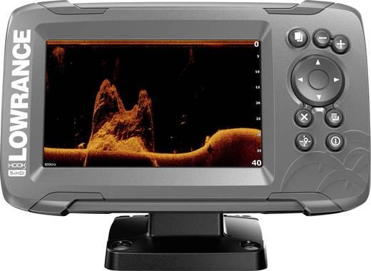 Fischfinder Lowrance Hook2 5x GPS Splitshot HDI
