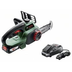 Akumulátorová řetězová pila Bosch Home and Garden UniversalChain 18, + akumulátor, 18 V, Li-Ion akumulátor, délka čepele 200 mm