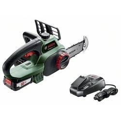 Na akumulátor reťazová píla Bosch Home and Garden UniversalChain 18, bez akumulátora, Li-Ion akumulátor, dĺžka čepele 200 mm