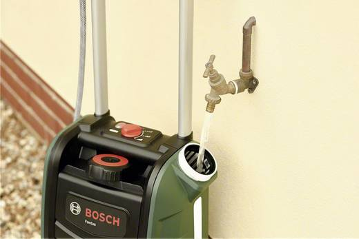 Bosch Home and Garden Fontus Mobile Waschstation ohne Akku 12 bar Kaltwasser