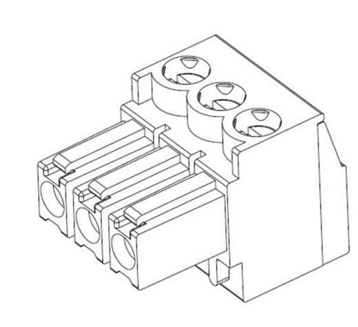 TE Connectivity Stiftgehäuse-Kabel Polzahl Gesamt 4 Rastermaß: 3.50 mm 284506-4 1 St.