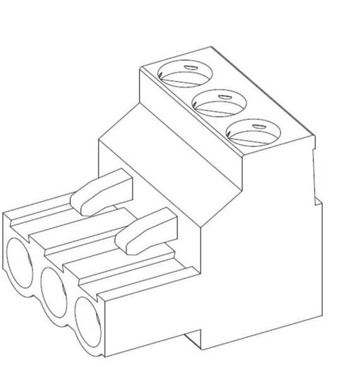 TE Connectivity Stiftgehäuse-Kabel Polzahl Gesamt 2 Rastermaß: 5 mm 796640-2 1 St.