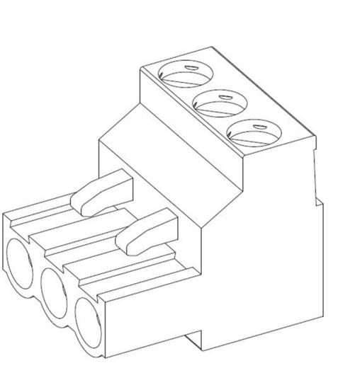 TE Connectivity Stiftgehäuse-Kabel Polzahl Gesamt 4 Rastermaß: 5 mm 796640-4 1 St.