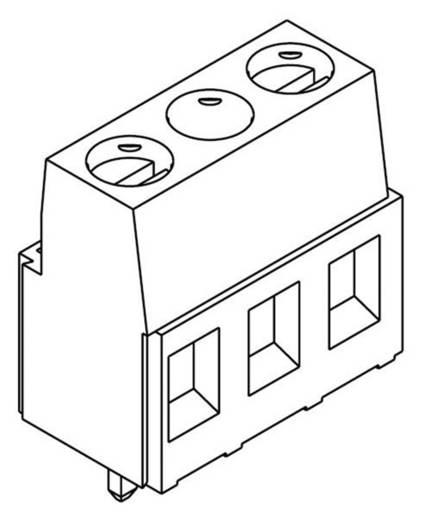 TE Connectivity 282843-4 Schraubklemmblock 1.50 mm² Polzahl 4 Grün 1 St.