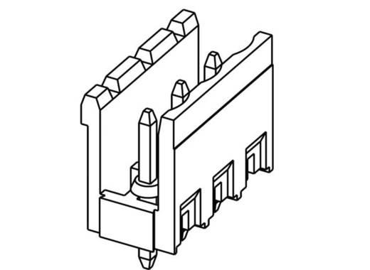 TE Connectivity Buchsengehäuse-Platine Polzahl Gesamt 3 Rastermaß: 5.08 mm 282824-3 1 St.