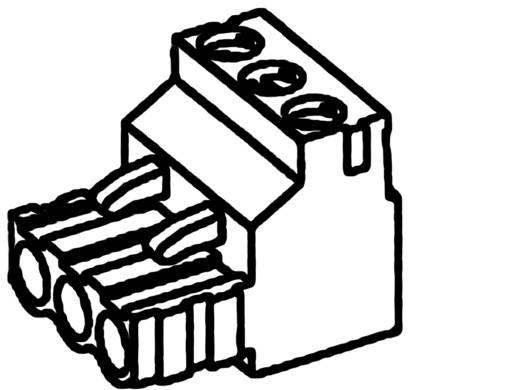 TE Connectivity Stiftgehäuse-Kabel Polzahl Gesamt 4 Rastermaß: 5.08 mm 282807-4 1 St.