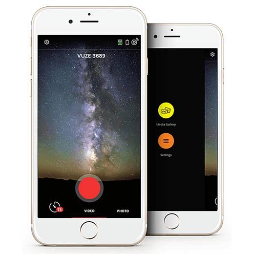 360 Grad Panorama-Kamera VUZE 3D-360 Grad-4K Kamera schwarz Schwarz