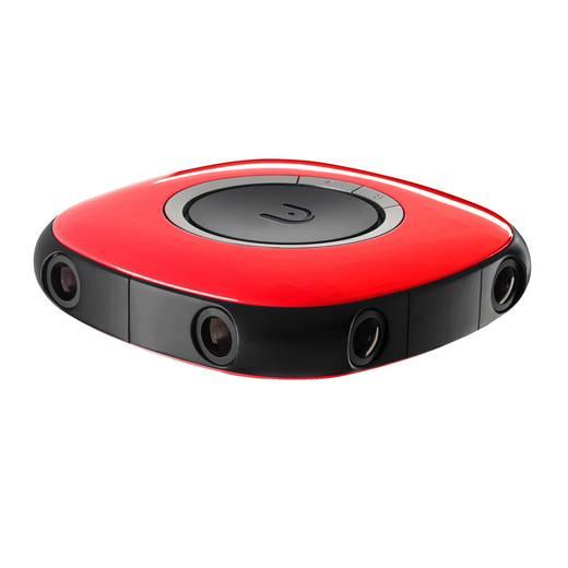 VUZE 3D 360 Grad Panorama-Kamera Rot