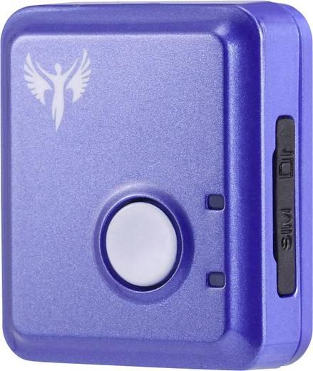 Amparos S Car GPS Tracker Fahrzeugtracker Blau-Weiß