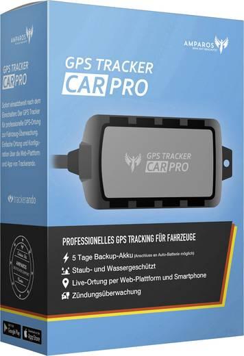 Amparos S Car Pro GPS Tracker Fahrzeugtracker Schwarz