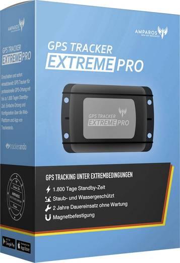 Amparos S Extreme Pro GPS Tracker Fahrzeugtracker Schwarz