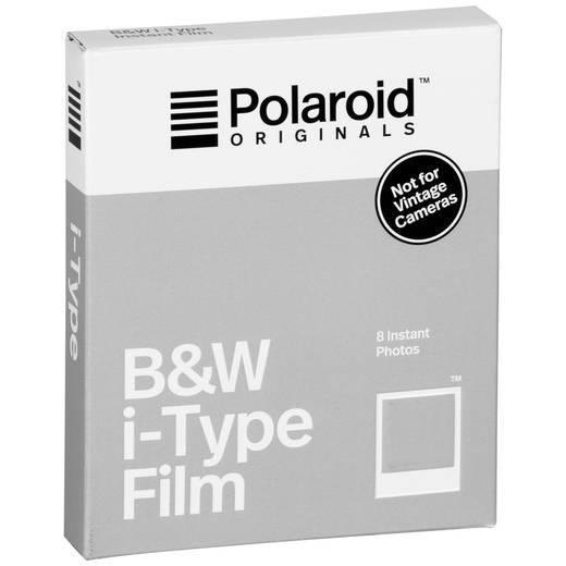 Polaroid B&W Film für I-type Sofortbildkamera