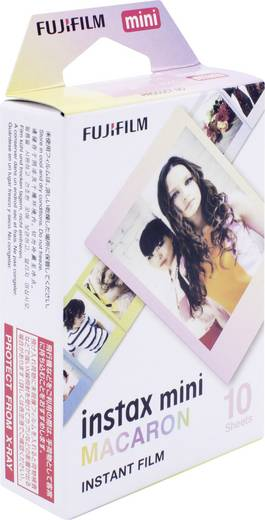 Fujifilm Instax Mini Macaron Sofortbild-Film