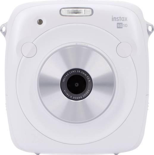 Fujifilm Square SQ10 W Digitale Sofortbildkamera Weiß