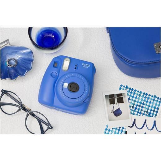 Sofortbildkamera Fujifilm Fujifilm instax mini 9 set inkl. Film ko Kobaltblau