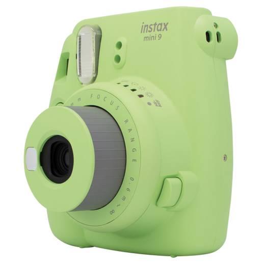 Fujifilm Instax Mini 9 + 10 instant picture film 62 x 46mm Grün Sofortbild-Kamera