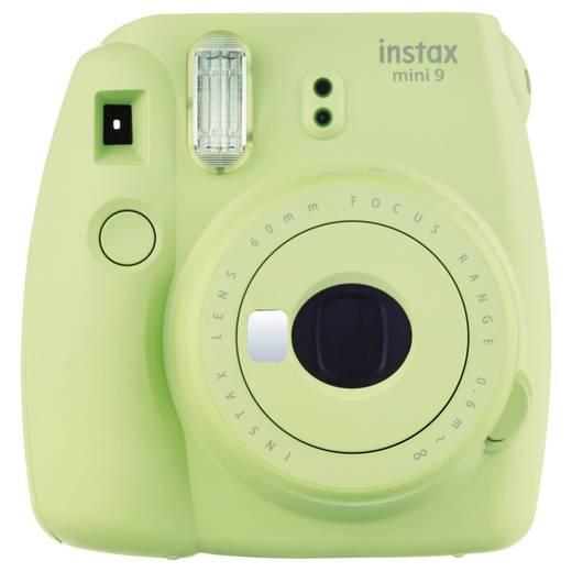 Sofortbildkamera Fujifilm Fujifilm instax mini 9 set inkl. Film li Limonengrün