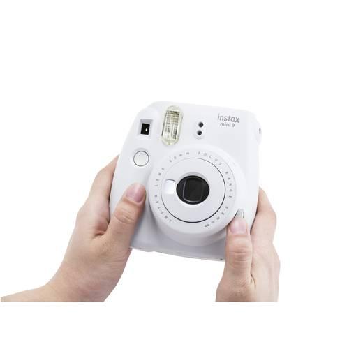 Sofortbildkamera Fujifilm Fujifilm instax mini 9 set inkl. Film ra Weiß