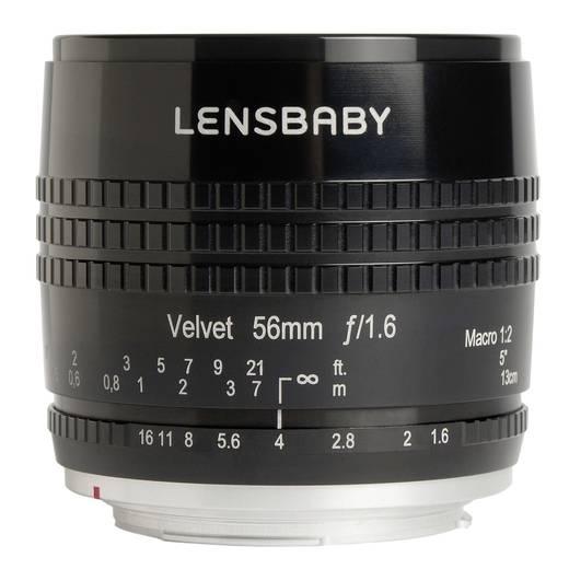 Festbrennweite Lensbaby Velvet 56 Nikon F 56 mm