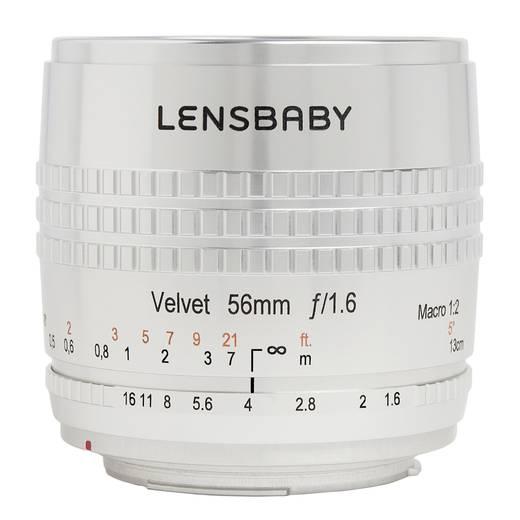 Festbrennweite Lensbaby Velvet 56 SE Canon EF 56 mm