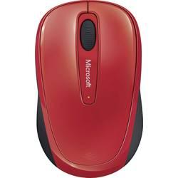 USB myš Microsoft Mobile Mouse 3500 GMF-00195, čierna, červená