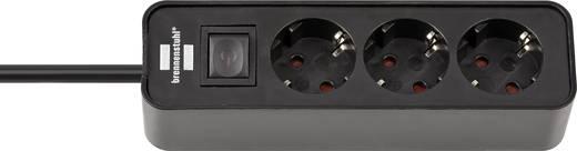 Steckdosenleiste mit Schalter 3fach Schwarz Schutzkontakt Brennenstuhl 1153230000