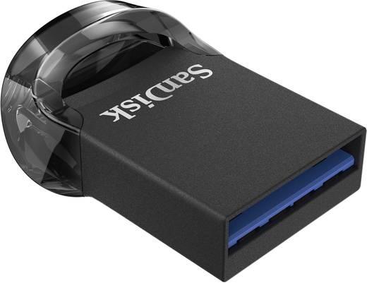 SanDisk Cruzer Ultra Fit™ USB-Stick 64 GB Schwarz SDCZ430-064G-G46 USB 3.1