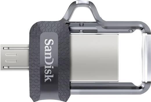 USB-Zusatzspeicher Smartphone/Tablet SanDisk Ultra® Dual Drive m3.0 256 GB Micro USB (OTG), USB 3.0