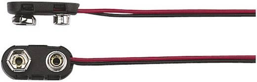 TRU COMPONENTS 18-3786 Batterieclip 1x 9 V Block Druckknopfanschluss