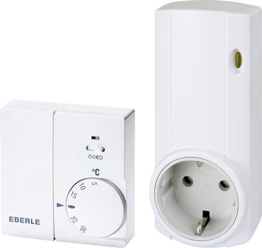 Funk-Raumthermostat-Set Wand 5 bis 30 °C Eberle Instat 868 - a1S / r1, Set